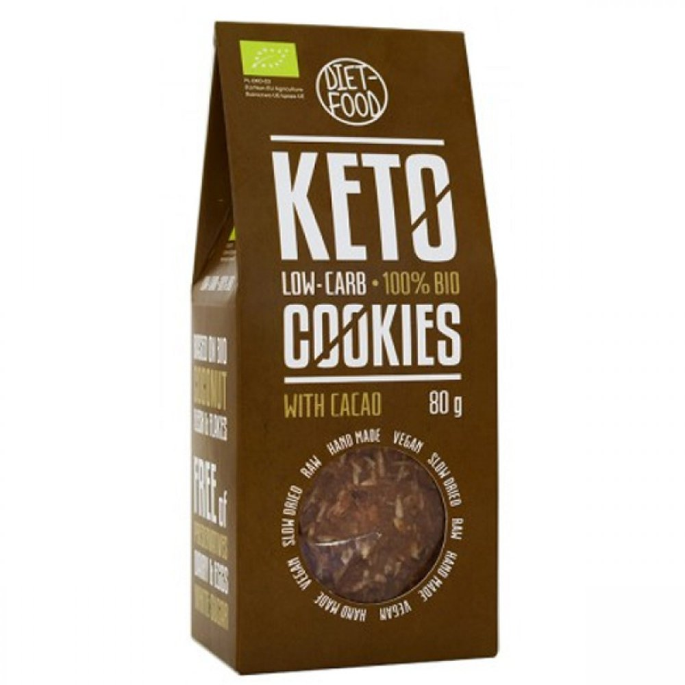 Keto cookies with cocoa