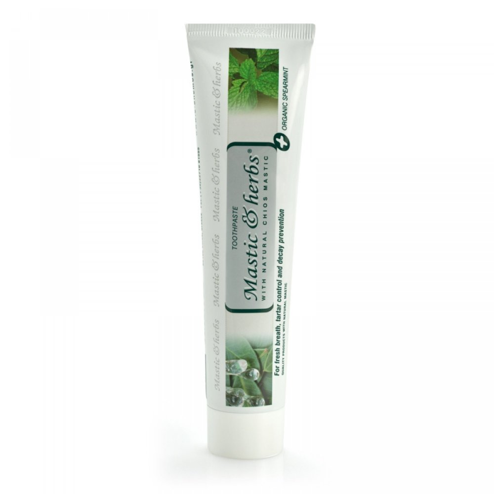Toothpaste with mastic & mint