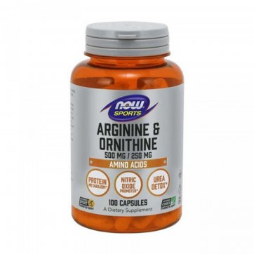 ΕΛΙΞΗΡΙΟ Arginine & Ornithine 500/250mg 100 caps