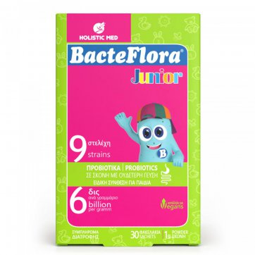 HOLISTIC MED BacteFlora Junior - 30 φακελάκια