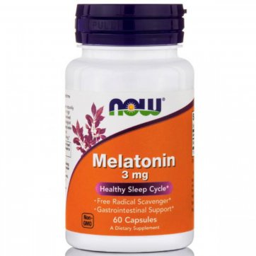 NOW Melatonin for restful sleep