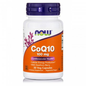 NOW Coenzyme Q10 with Hawthorn