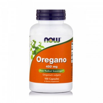 NOW Oregano - 450mg - 100 Vcaps