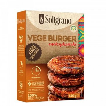 SOLIGRANO Vegan Burger Μεξικάνικο
